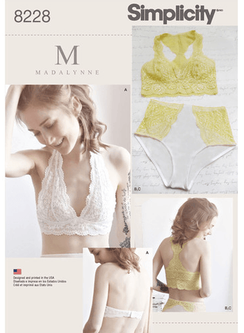 Bundle Simplicity Madalynne 8228 + 8229
