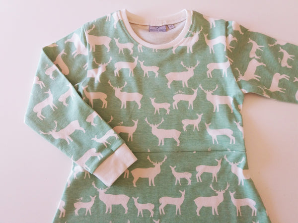 Elk Fam Pool - malha / knit (Birch fabrics)