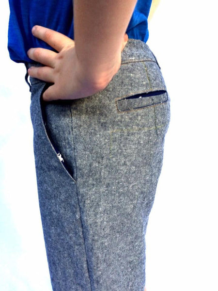 Arthur Chinos Pants / Shorts (pdf sewing pattern) - English
