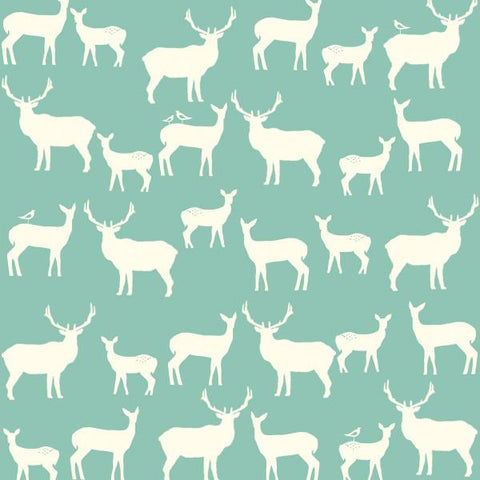 Elk Fam Pool - malha (Birch fabrics) - SUCO by Susana - 2