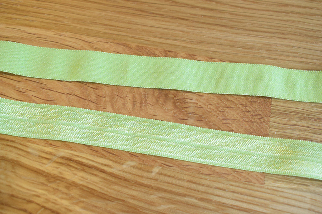 Fold over elastic - Verde lima / Lime green - Suco by Susana