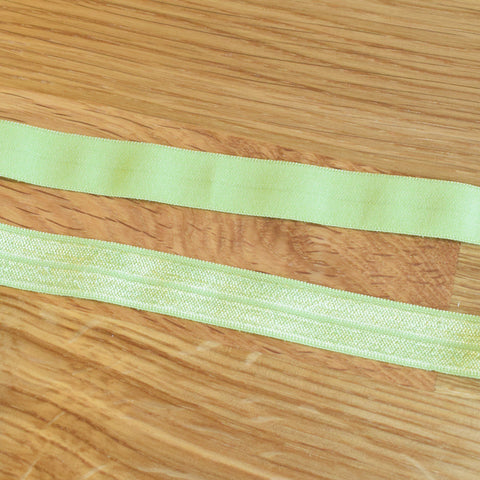 Fold over elastic - Verde lima / Lime green
