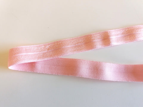 Fold over elastic - Rosa / Pink