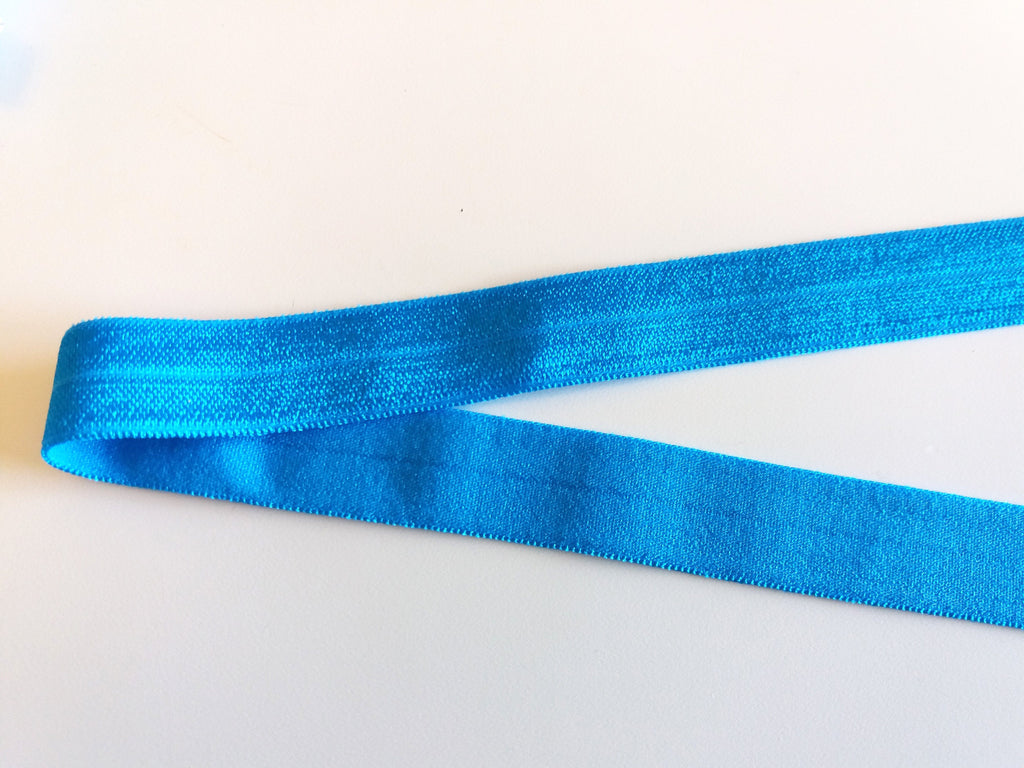 Fold over elastic - Aqua - Suco by Susana