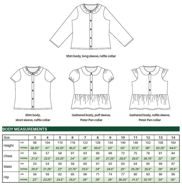 Maria Blouse (pdf) - English