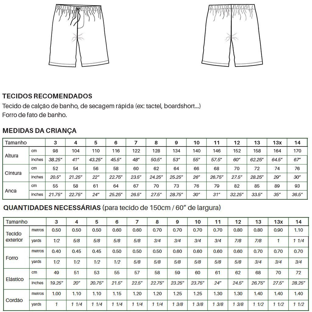 Manuel Swim Shorts (pdf) - English - Suco by Susana