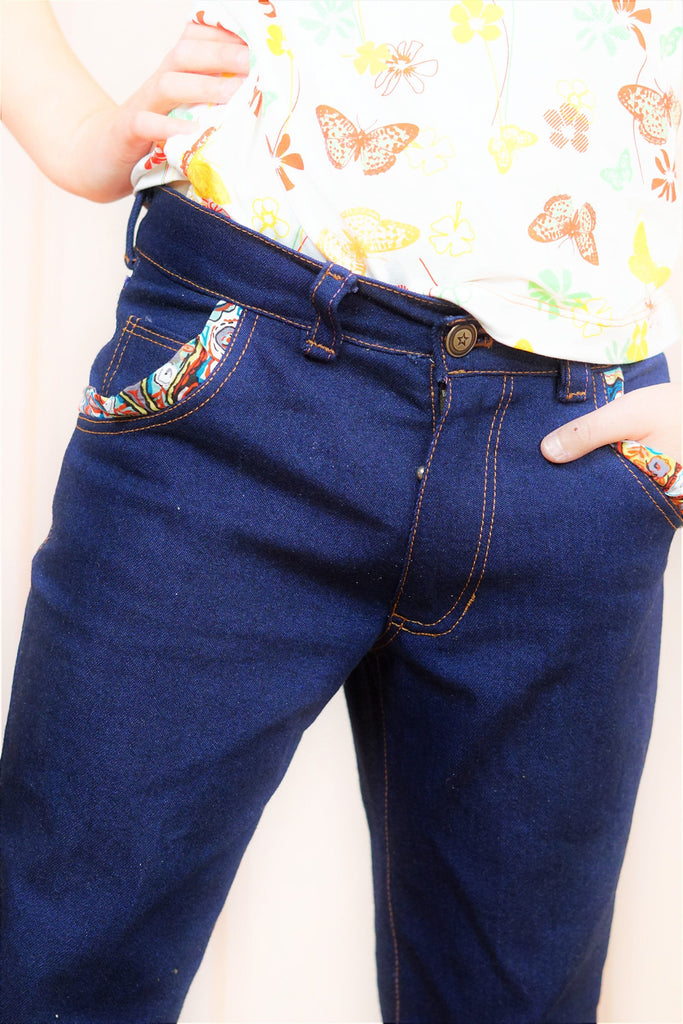 Laura Jeans pants & shorts (pdf) - English