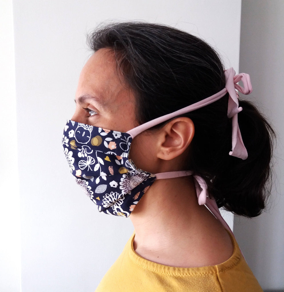 Face mask adult - bicycles
