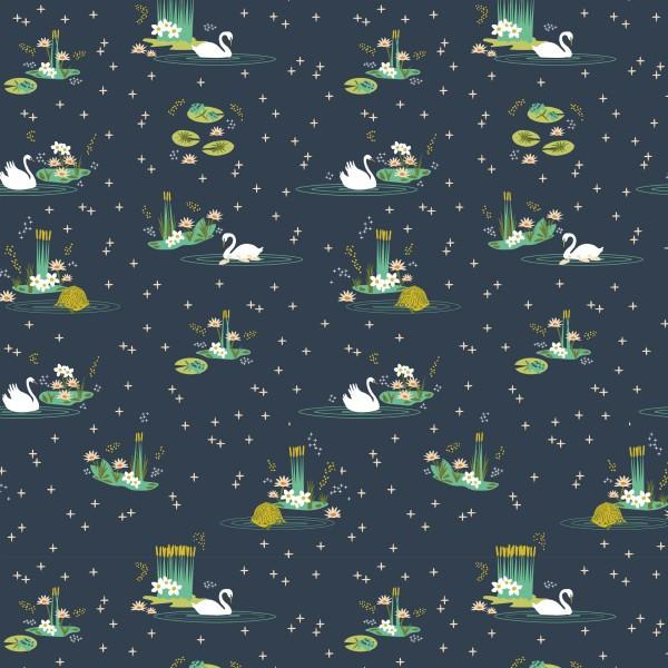 Swan Lake Main (Birch fabrics) - SUCO by Susana - 1