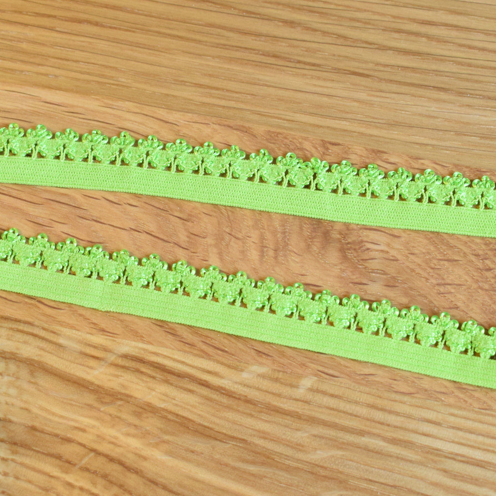 Picot elastic - Verde lima / Lime green - Suco by Susana