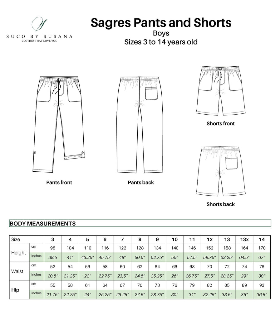 Sagres Pants & Shorts (pdf) - English