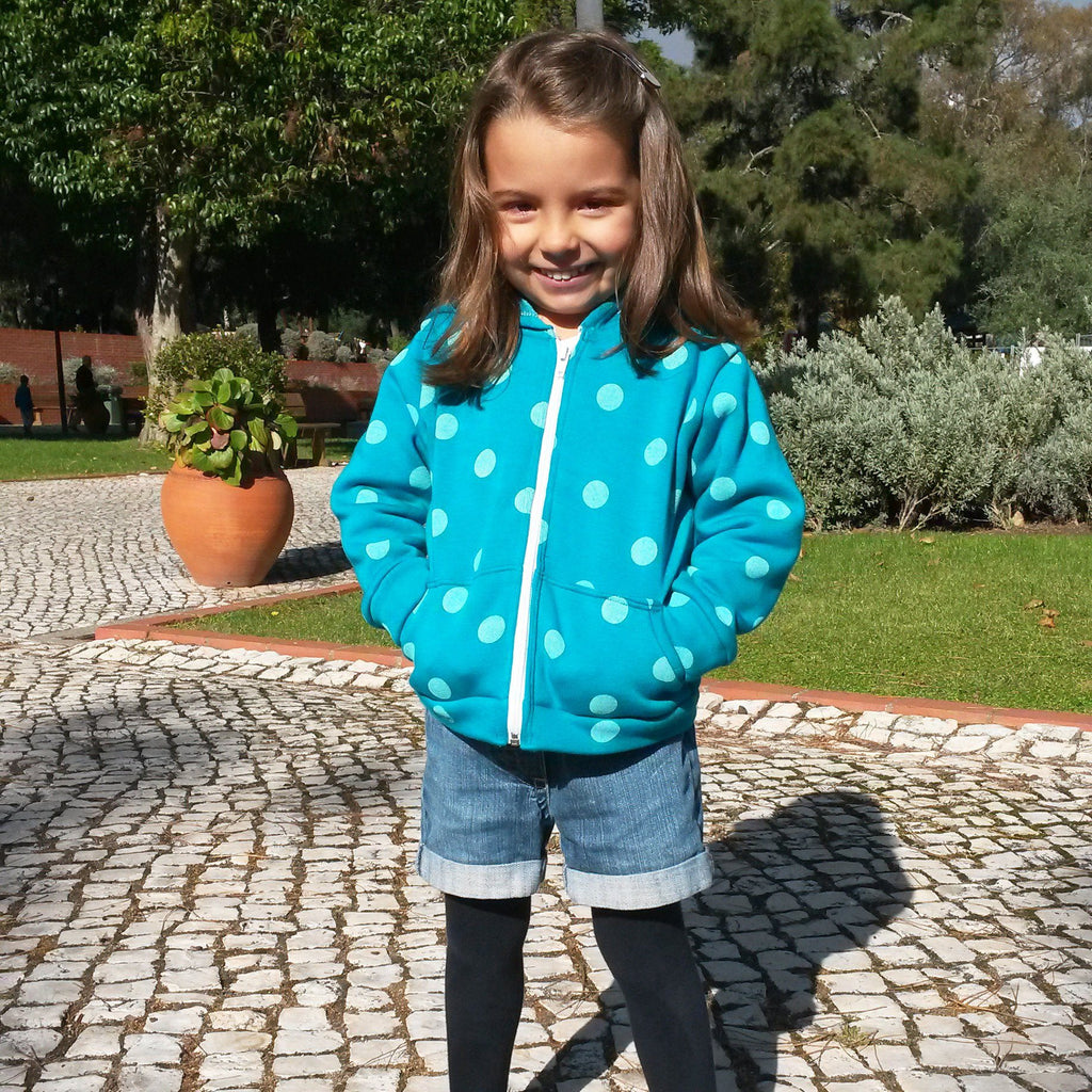 Luís & Joana Hoodie Jacket (pdf) - English - Suco by Susana