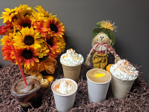 It's a PUMPKIN PARTY at O'Neill Coffee!