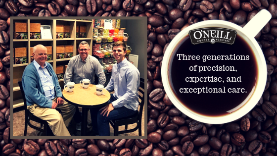 O'Neill Coffee History of Business Services