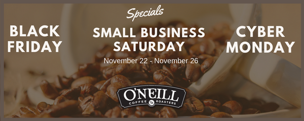 O'Neill Coffee Specials