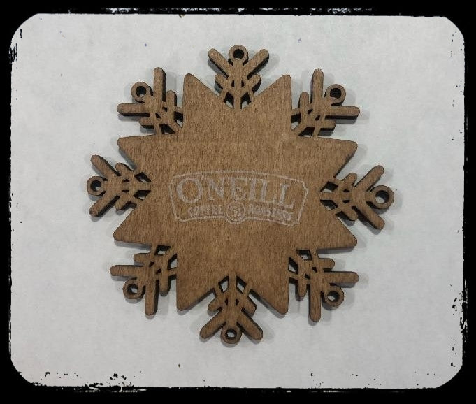O'Neill Wooden Ornament