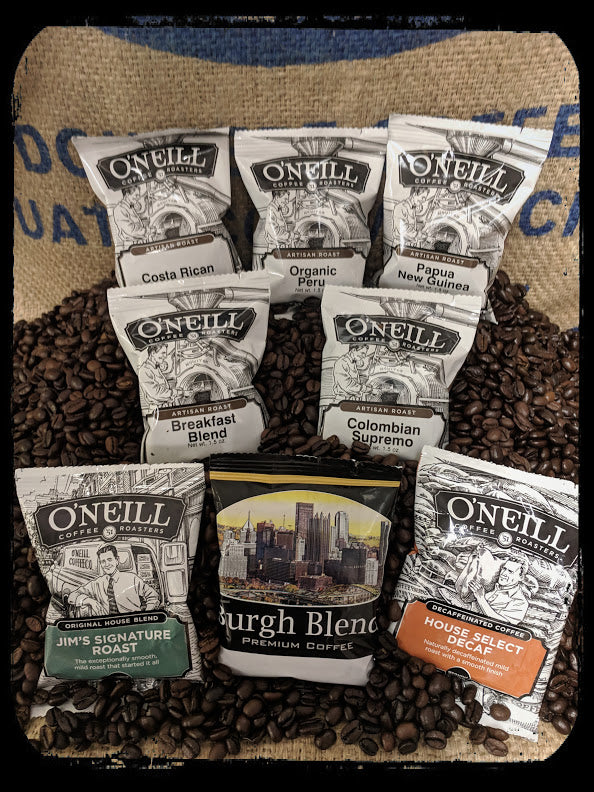 Single Serve Artisan Packets by O'Neill Coffee