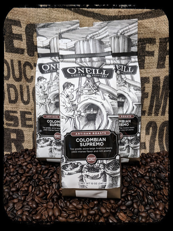 Colombian Supremo:  Artisan Coffee by O'Neill Coffee