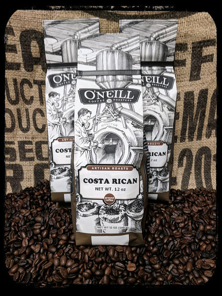 Costa Rican:  Artisan Coffee by O'Neill Coffee