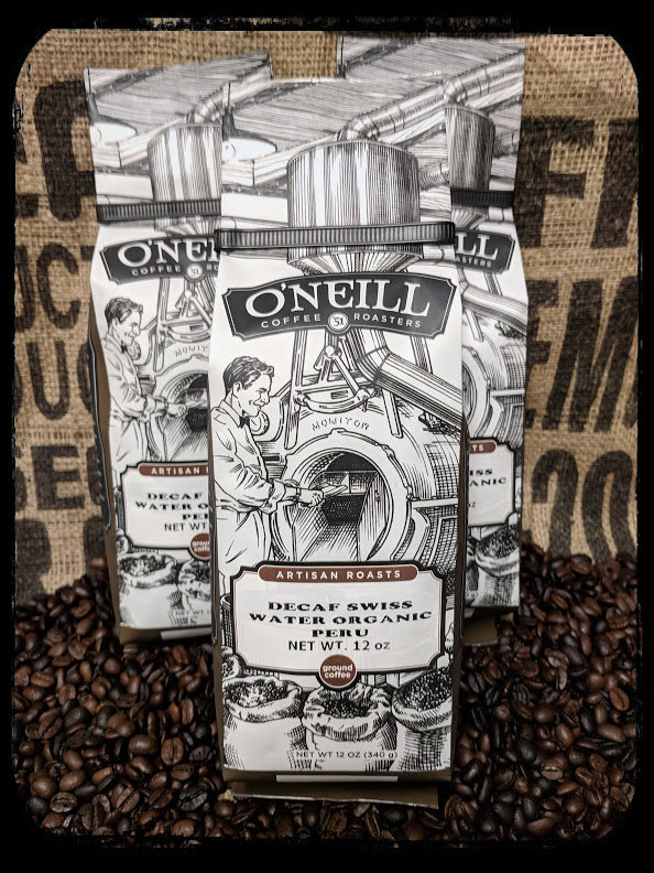 Decaf Swiss Water Organic Peru:  Artisan Coffee by O'Neill Coffee