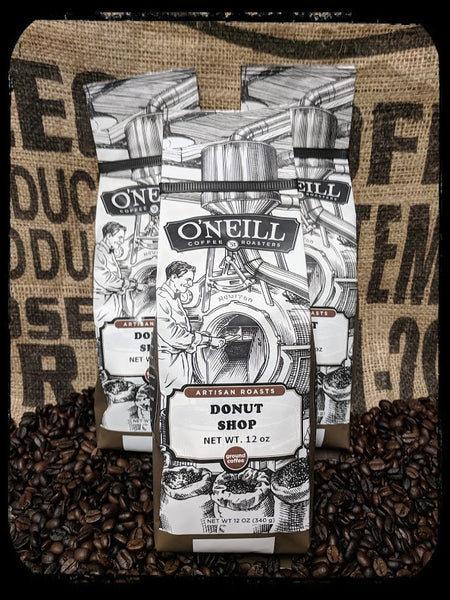 Donut Shop:  Artisan Coffee by O'Neill Coffee
