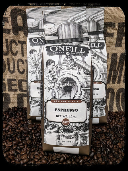 Espresso:  Artisan Coffee by O'Neill Coffee