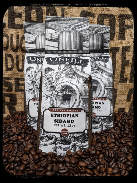 Ethiopian Sidamo:  Artisan Coffee by O'Neill Coffee