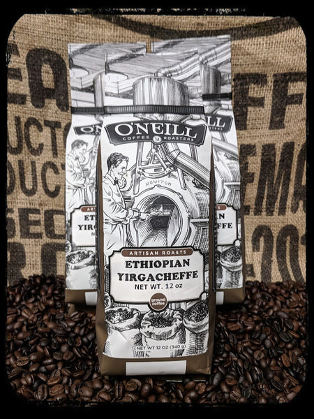 Ethiopian Yirgacheffe:  Artisan Coffee by O'Neill Coffee