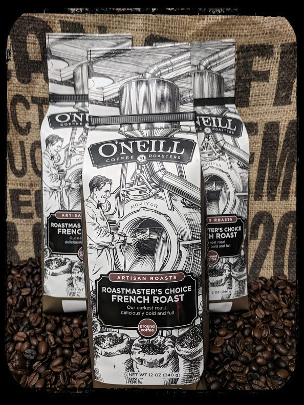 Roastmaster's Choice French Roast:  Artisan Coffee by O'Neill Coffee