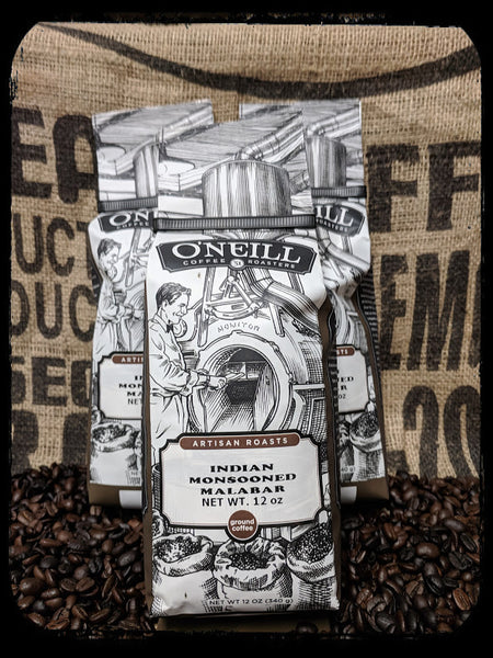 Indian Monsoon Malabar:  Artisan Coffee by O'Neill Coffee