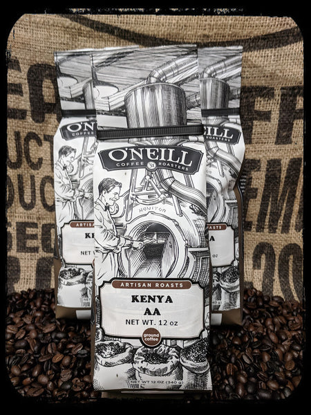 Kenya AA:  Artisan Coffee by O'Neill Coffee