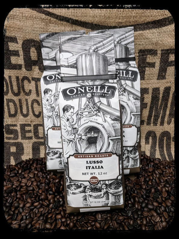 Lusso Italia:  Artisan Coffee by O'Neill Coffee