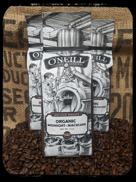 Organic Midnight in Macusani:  Artisan Coffee by O'Neill Coffee
