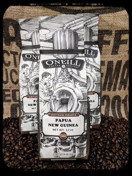 Papua New Guinea:  Artisan Coffee by O'Neill Coffee