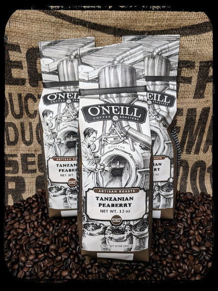 Tanzania Peaberry: Artisan Coffee by O'Neill Coffee