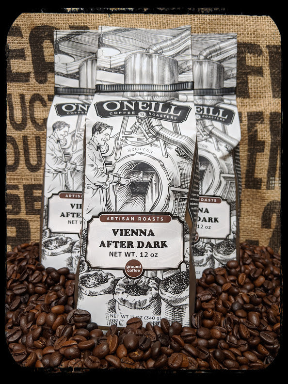 Vienna After Dark:  Artisan Coffee by O'Neill Coffee