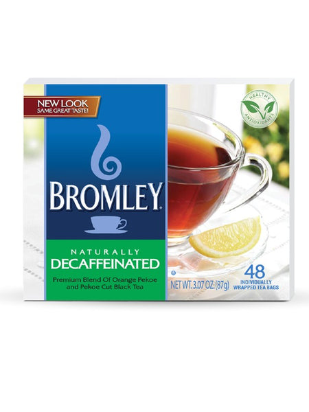 Bromley Tea Box of 100 - Decaf
