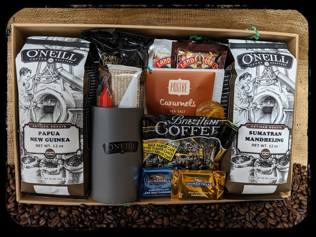 Ground Indulgence Gift Box: Gifts by O'Neill Coffee