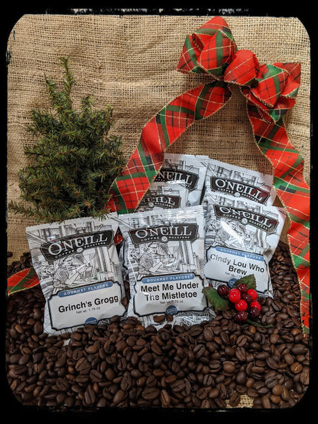 Single Serve Seasonal Flavor Packets by O'Neill Coffee