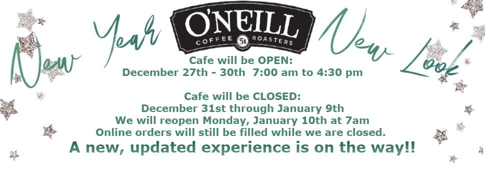 New O'Neill Gift Boxes