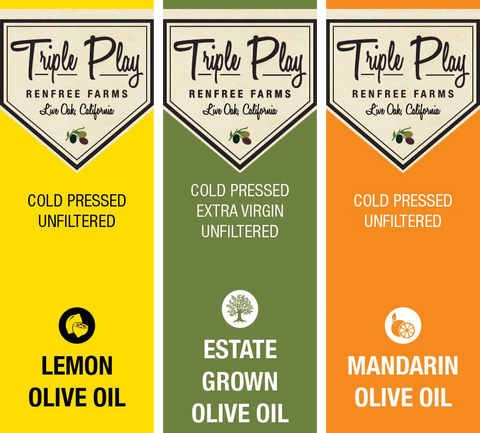 Tart & Tasty Olive Oil Set