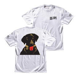 STAG DOG DAYS TEE - WHITE - Stag Beer