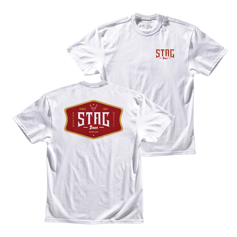 THE SUPPORT TEE - Stag Beer