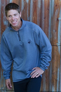 Men's Grey 1/4 Zip Top