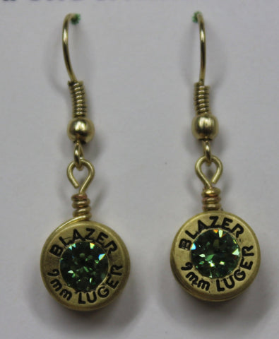 Shell Casing Dangle Earrings