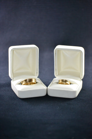 Gold Coin Wedding Set