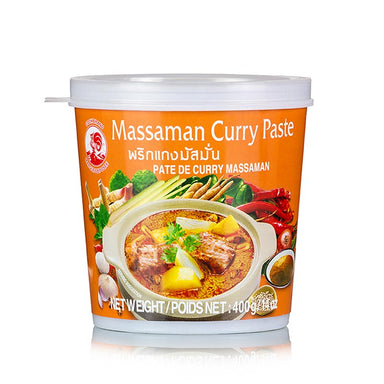 "Curry Paste ""Massaman"" (Thai-Curry),  400 g - Asia & Ethno Food - Asiatische Gewürze, Aromen - thungourmet"