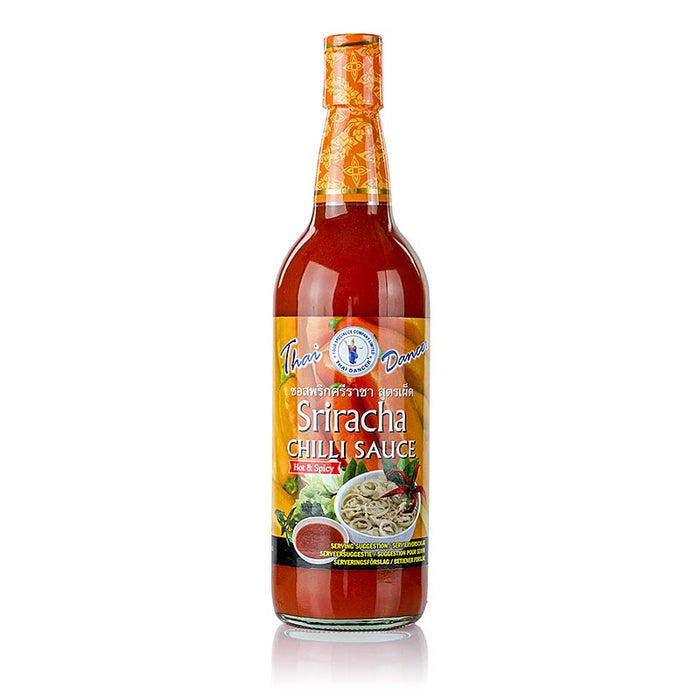 Chili-Sauce - Sriracha, sehr scharf, Thai Dancer,  730 ml