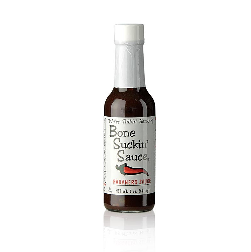 Bone Suckin´ Sauce Habanero BBQ Sauce (Hiccuppin-Hot), Ford´s Food,  147 ml - thungourmet