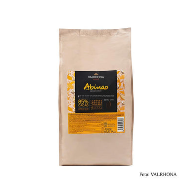 "Abinao ""Grand Cru"", dunkle Couverture, Callets, 85% Kakao, Afrika,  3 kg - Couverture, Schoko-Formen, Schoko-Produkte - Valrhona Couverture - thungourmet"